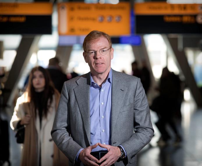 Joost Meijs, directeur van Eindhoven Airport