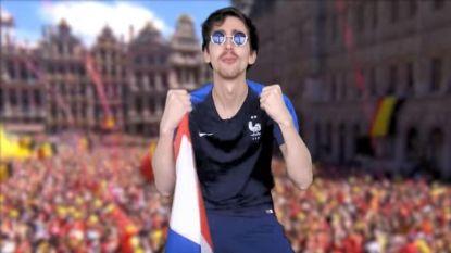 Franse YouTuber vindt het nog nodig om in muziekvideo te spotten met België en Rode Duivels