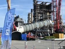 Zeeland Refinery ontvangt extra reactor waarmee de uitstoot van C02 daalt
