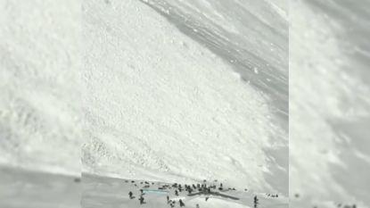 Skiërs ontsnappen op nippertje aan lawine in Oostenrijk