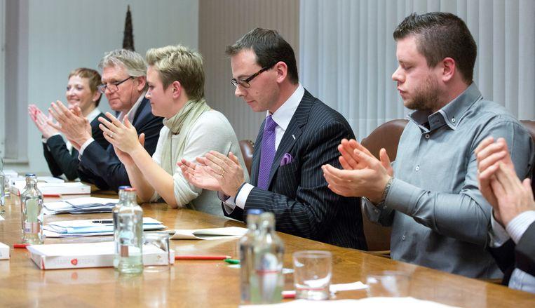 De gemeenteraad van Leopoldsburg anno 2012.