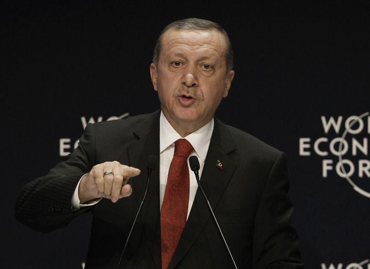 Turkse president Tayyip Erdogan. Beeld reuters