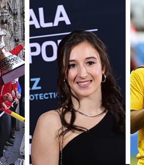 Hazard et Derwael sportifs de l'année, les Red Lions meilleure équipe: le palmarès complet du Gala du Sport 2018