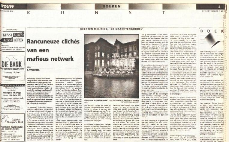 Deze recensie verscheen in 1992 al in Letter&Geest. Beeld Trouw
