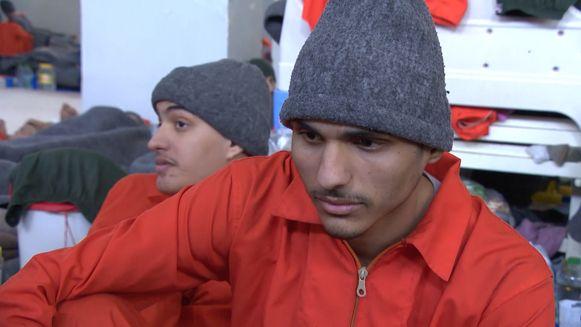 Oorlogsjournalist Robin Ramaekers en -cameraman Lennert Potums spraken in al Hasakah, de grootste IS-gevangenis van Syrië, met de Belgische IS-gevangene Abdellah Nouamane, alias Abu Jihad al Belgiki.