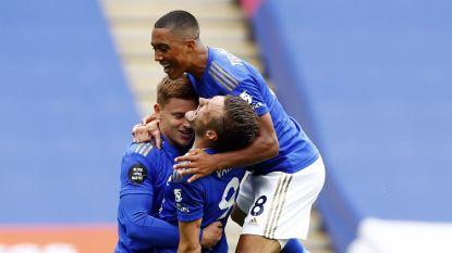 LIVE. Aftrap gegeven: Tielemans start bij Leicester, Praet op de bank tegen Arsenal