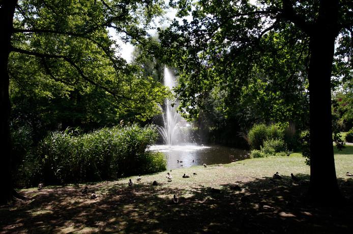 Burgemeester Ploegmakerspark in Asten (archieffoto).