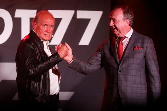 Jacques Vermeire en Luc Verschueren traden zaterdagavond voor het eerst weer samen op.