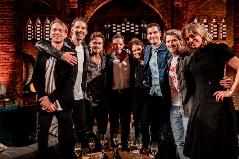 Regi, Sean Dhondt, André Hazes, Peter Van Laet, The Starlings, Gene Thomas & Karen Damen