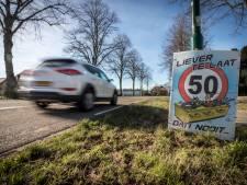 Actie tegen wegpiraten in Westerhoven