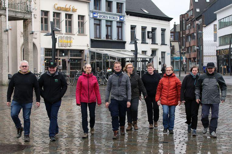 Team Kempen organiseert om de twee weken een wandeling van twintig kilometer.