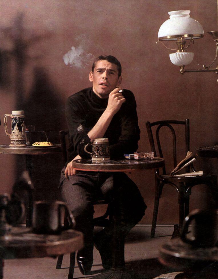 Jacques Brel. 'Hij legde veel speelse, heel geestige vondsten in zijn teksten, licht-absurdistisch en vol bravoure.' Beeld GAB