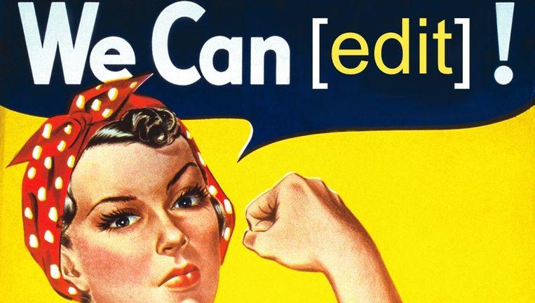 Er kwamen dit weekend 80 nieuwe 'vrouwelijke' artikelen bij. Beeld Wikipedia