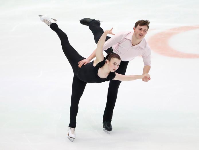 Daria Danilova en Michel Tsiba.