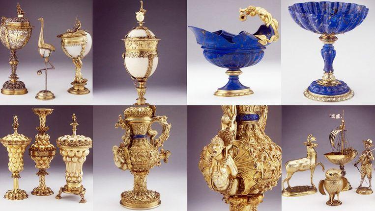Een deel van de Wellby-collectie. Beeld Ashmolean Museum