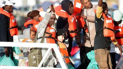 Malta redt 76 vluchtelingen op zee