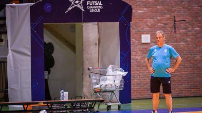 Zaalvoetbalkampioen FP Halle-Gooik schrijft geschiedenis en kijkt op eigen bodem Barcelona, Benfica en Parijs in de ogen in Champions League