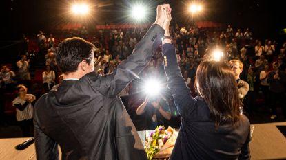 """Ecolo viert overwinning: """"Het werk begint vandaag"""""""