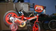 Zelfs kinderfietsjes zijn niet veilig voor fietsdieven