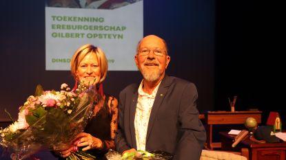 Gilbert Opsteyn (79) mag zich ereburger van Maasmechelen noemen