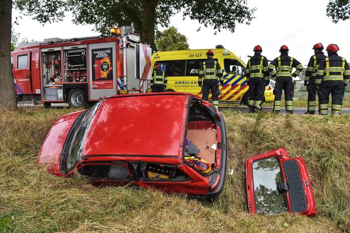 Ongeval in Baarle-Nassau.