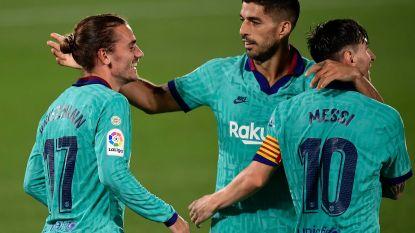 Barça swingt nog eens tegen Villarreal, Griezmann zet kroon op het werk met weergaloze stifter