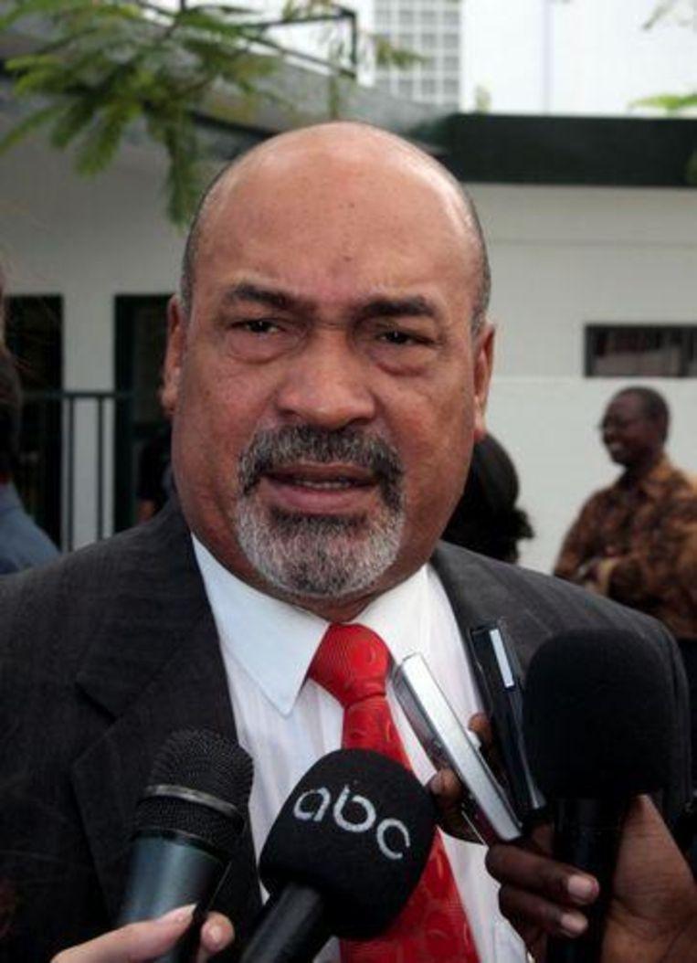 Het Comité Herdenking Slachtoffers Suriname laat onderzoeken of Suriname Nederland kan aanklagen voor het Internationaal Gerechtshof voor zijn rol bij de coup van Desi Bouterse. (ANP Photo) Beeld