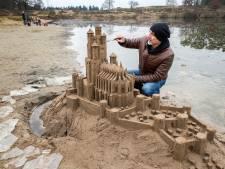 Zandartiest Leonardo maakt Zweinstein en Game of Thrones in boswachterij Dorst