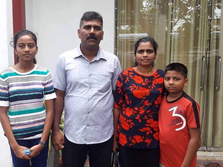 Ramesh Raju met zijn gezin
