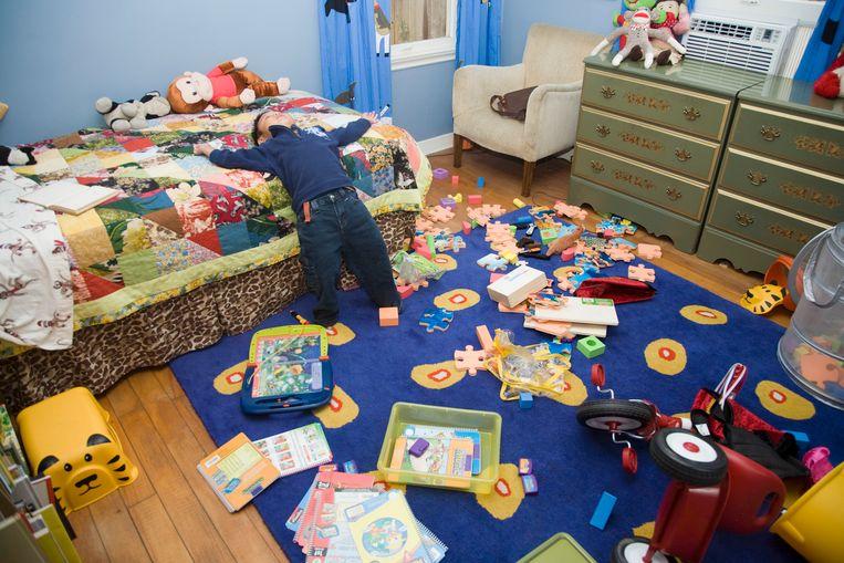 Kind ruimt kamer op en smijt alles uit het venster: 4.500 euro