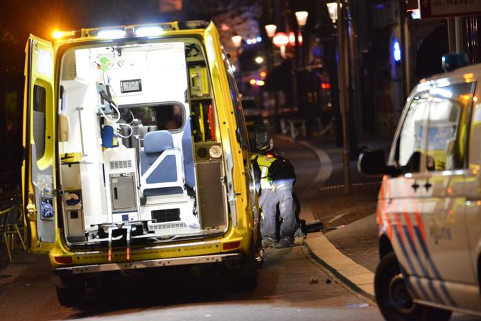 Hulpdiensten waren die avond snel ter plaatse aan de Haven in Breda.