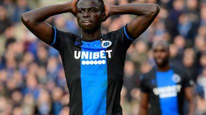 Domper voor Club: blauw-zwart kan niet rekenen op Diatta tegen Manchester United