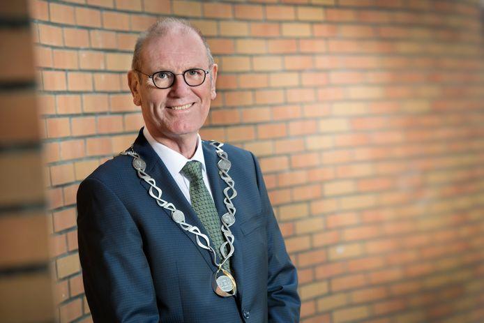 Burgemeester Wim Groeneweg.