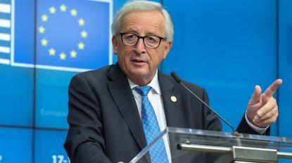 """Juncker: """"Belgische begroting stelt geen probleem"""""""