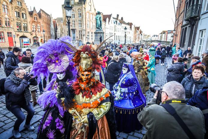 Venetiaans carnaval in Brugge.