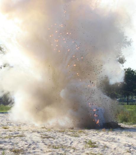 Rokende granaat gevonden in aardappelveld bij Sint-Oedenrode, explosief tot ontploffing gebracht