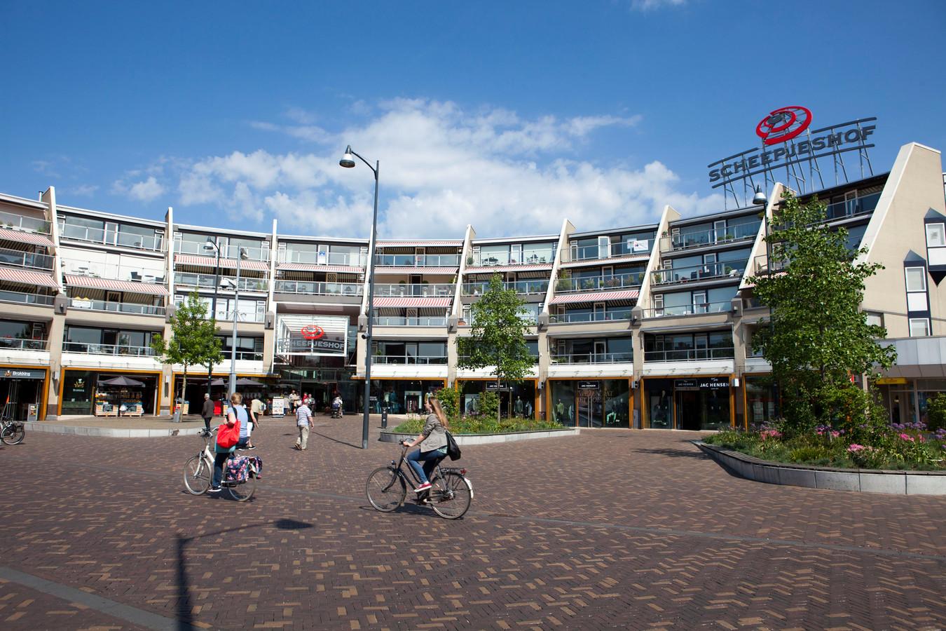 Het Scheepjeshofplein in Veenendaal.
