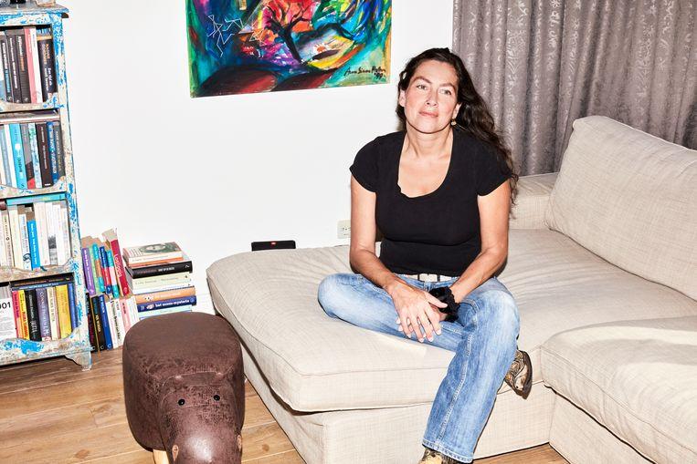 Audrey Beckers: 'Mijn alcoholgebruik was al niet in orde, maar ik liep nog op twee benen. Toen opeens werd de vloer onder me vandaan getrokken.' Beeld Valentina Vos