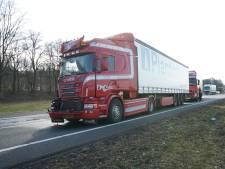 Ongeluk met vrachtwagens op A1 tussen Deventer en Rijssen