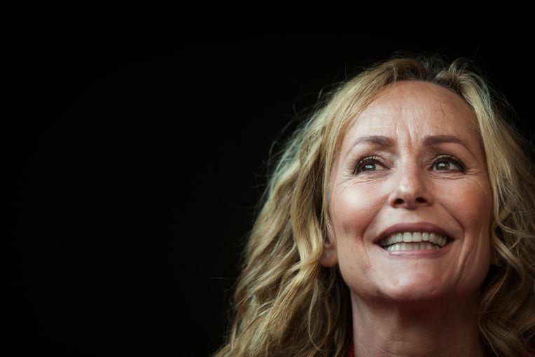 Het klimaat is een van de onderwerpen in de voorstelling 'Lueke binge' van Angela Groothuizen. Beeld ANP Kippa