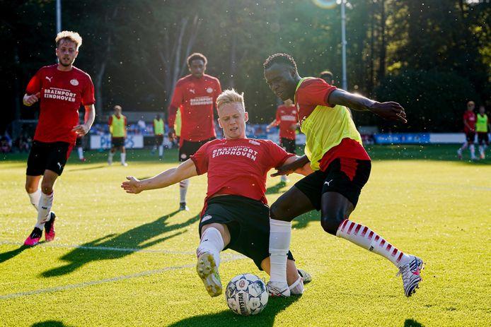 Timo Baumgartl of PSV, Bruma of PSV during PSV NETHERLANDS ONLY COPYRIGHT SOCCRATES/BSR