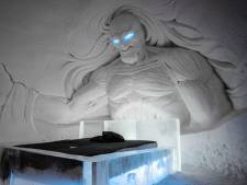 Waan je tussen 'White Walkers' in ijshotel