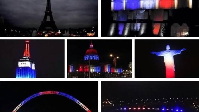 Bloedbad in Parijs: de wereld reageert solidair en vol afschuw