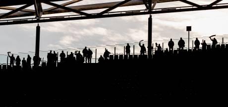 Duitse fans protesteren tegen duels op maandag
