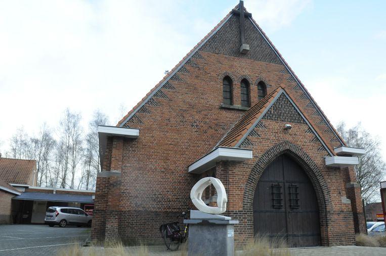 De kapel is vandaag een ontmoetings-en exporuimte.