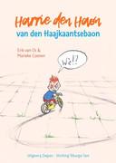De cover van het prentenboek in het Tilburg dialect: Harrie den Haon van den Haajkantsebaon.