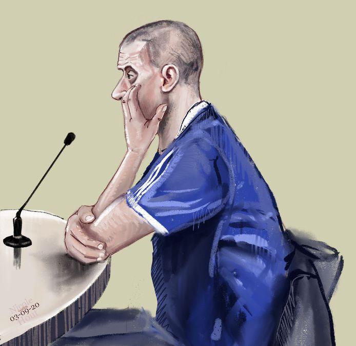 Matthias M., veroordeeld voor de puzzelmoord op Halil Erol uit Steenwijk.