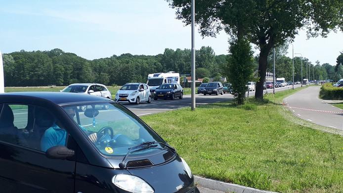 File op de Misterweg in Winterswijk, voor Obelink.