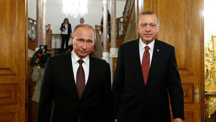 Vladimir Poutine et Recep Erdogan