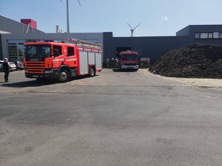 De brand bij Empro kon zelf geblust worden door medewerkers.